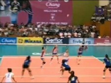 Thailand - Serbia (World Grand Prix 2012, SET3)