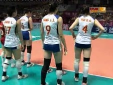 Thailand - China (World Grand Prix 2012, SET3)