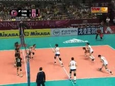 Thailand - China (World Grand Prix 2012, SET4)