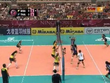 Thailand - Brazil (World Grand Prix 2012, SET1)