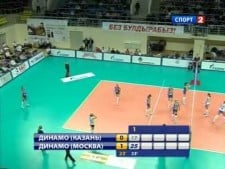 Kazan - Moscow (Final Superliga 2011/12, 1st match - SET1,2)