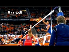 TOP10 Best Women's Middle-Blockers Volleyball Spikes