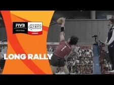 Long rally (Japan - Peru)