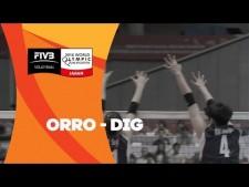 Alessia Orro great action (Korea - Italy)