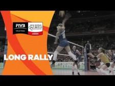 Long rally (Japan - Kazakhstan)