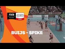Anne Buijs great spike (Peru - Netherlands)