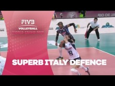 Italy great defences (Italy - Serbia)