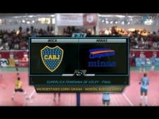 Boca Juniors - Minas Tenis Clube (full match)