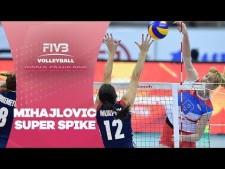Brankica Mihajlović amazing spike (Serbia - USA)