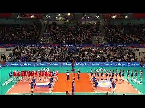 Russia - Argentina (full match)