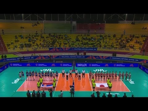 Japan - Serbia (full match)