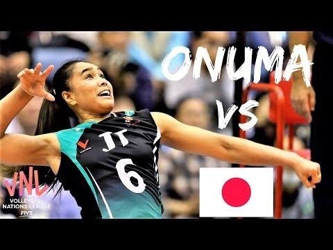 Onuma Sittirak in match Thailand - Japan