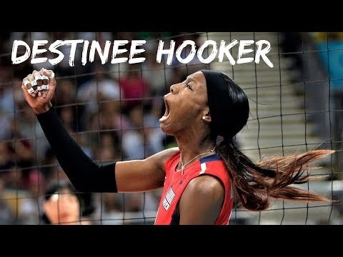 Destinee Hooker in The Olympics 2012 (2nd movie)