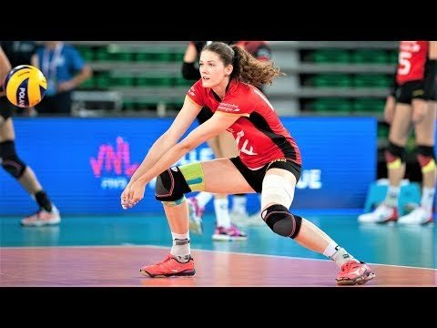 Marie Schölzel - BEST Volleyball Actions ● VNL 2018