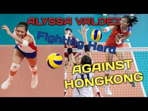 ALYSSA VALDEZ GAME HIGHLIGHTS VS HONGKONG | ASIAN GAMES 2018