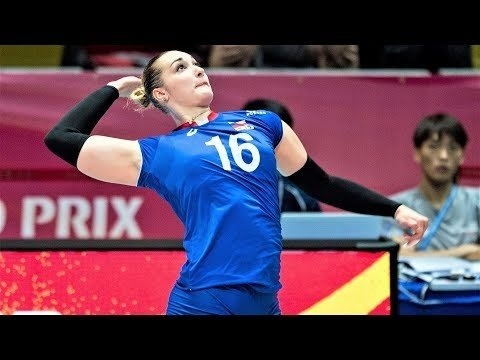 Irina Voronkova in Volleyball Nations League 2018