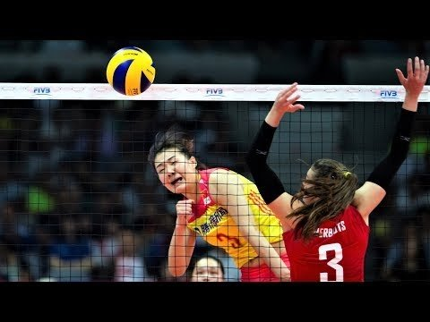 Fangxu Yang (杨方旭) - BEST Volleyball Actions Women's VNL 2018