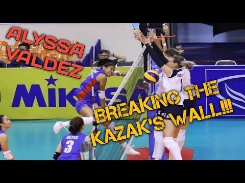 ALYSSA VALDEZ GAME HIGHLIGHTS AGAINST KAZAKHSTAN | AVC CUP