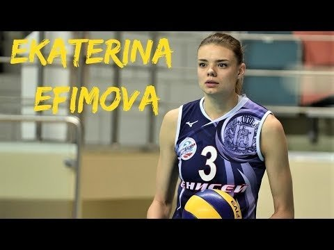 Ekaterina Efimova - BEST Volleyball Actions Women's VNL 2018