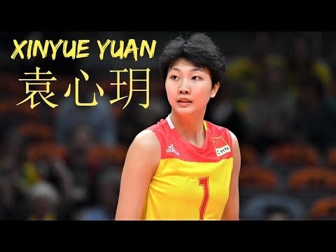 Xinyue Yuan in VNL 2018