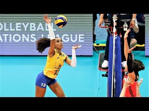 Amanda Francisco in VNL 2018