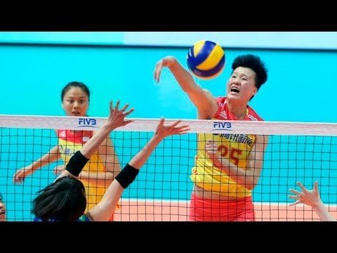 Mingyuan Hu in VNL 2018