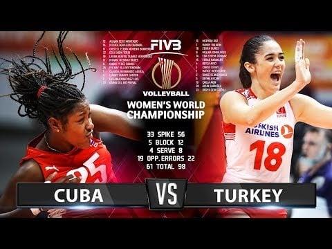 Cuba - Turkey (Highlights)