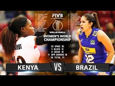 Kenya - Brazil (Highlights)