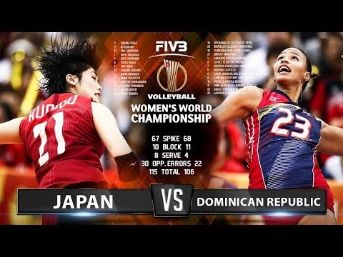 Japan - Dominican Republic (Highlights)