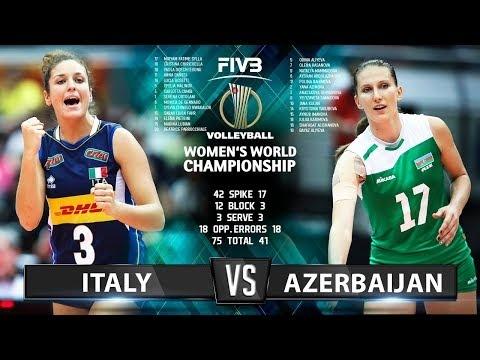 Italy - Azerbaijan (Highlights)