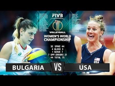 Bulgaria - USA (Highlights)