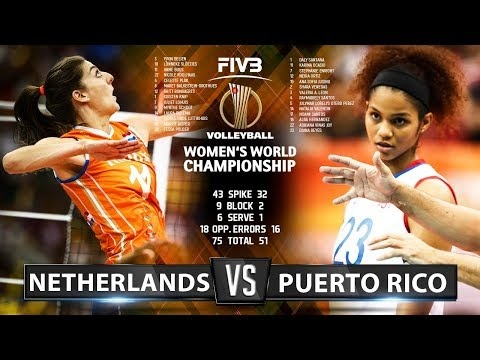 Netherlands - Puerto Rico (Highlights)