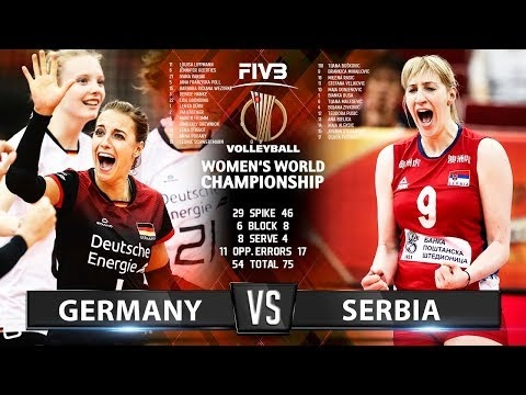 Germany - Serbia (Highlights)
