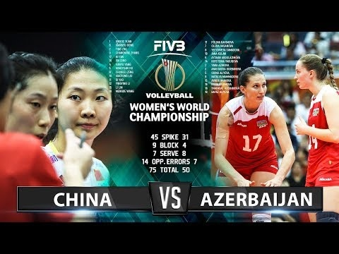 China - Azerbaijan (Highlights)