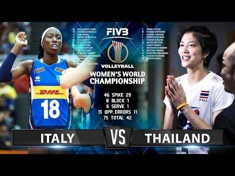 Thailand - Italy (Highlights)