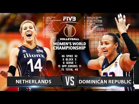 Netherlands - Dominican Republic (Highlights)