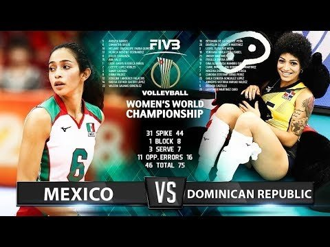 Mexico - Dominican Republic (Highlights)