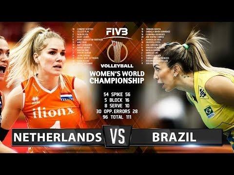 Netherlands - Brazil (Highlights)
