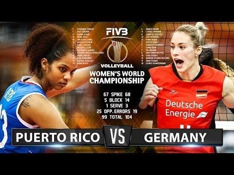 Germany - Puerto Rico (Highlights)