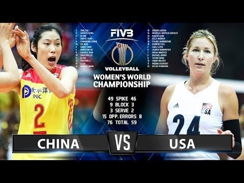 China - USA (Highlights)