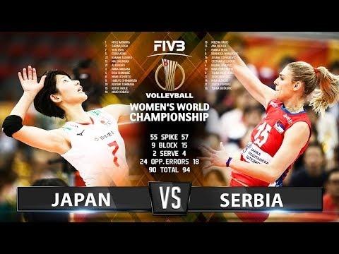 Japan - Serbia (Highlights)