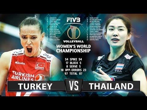Turkey - Thailand (Highlights)