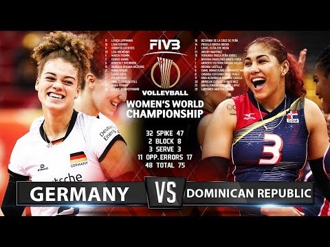 Germany - Dominican Republic (Highlights)