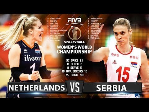 Netherlands - Serbia (Highlights)