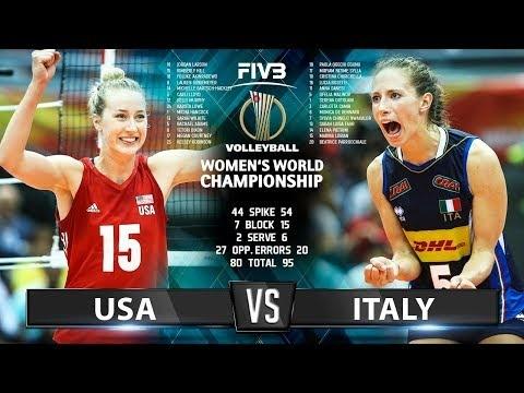 Italy - USA (Highlights)