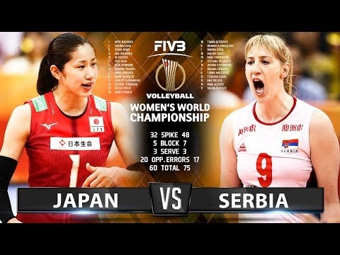 Japan - Serbia - (Highlights)