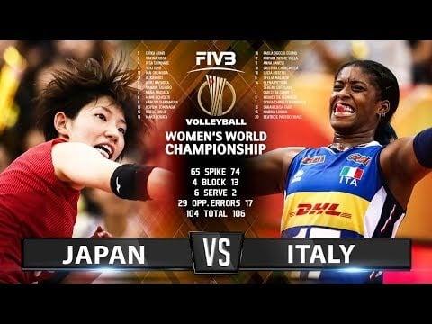 Italy - Japan (Highlights)