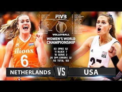 Netherlands - USA (Highlights)