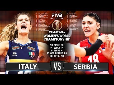 Italy - Serbia (Highlights)