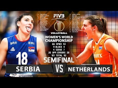 Serbia - Netherlands (Highlights)